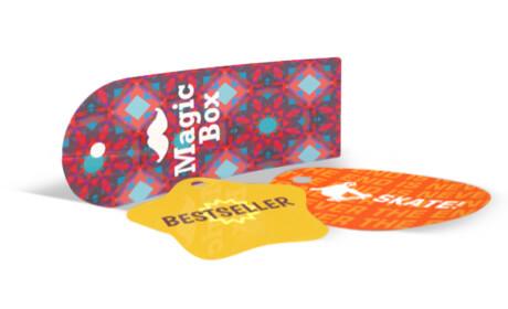 Etiquetas de Cartón Clásicas