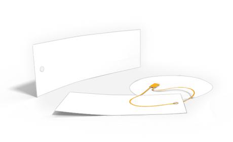 Cordones y cintas para las Etiquetas de Cartón