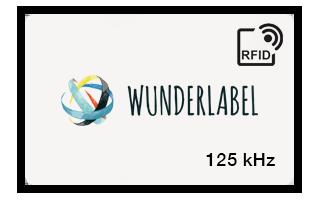 Tarjeta plástica RFID 125kHz