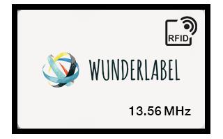 Tarjeta plástica RFID 13.56 MHz