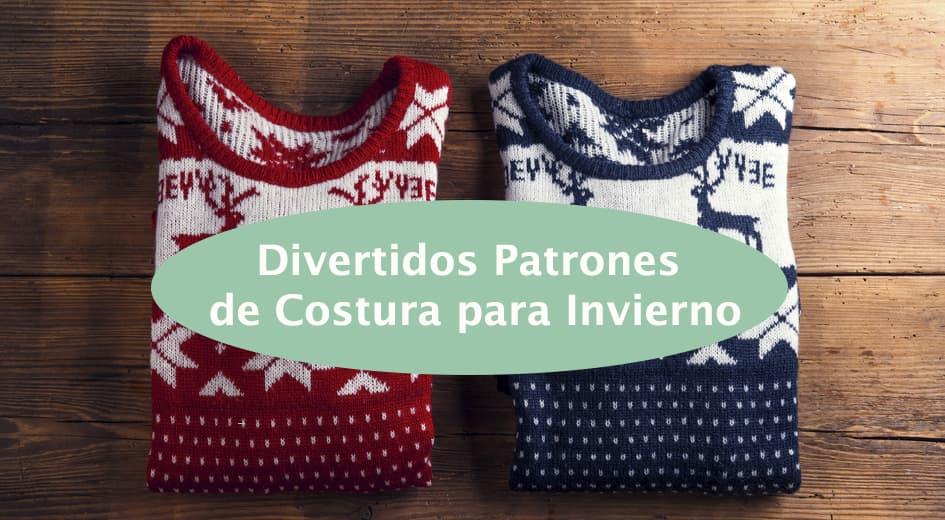 Divertidos Patrones de Costura para Invierno