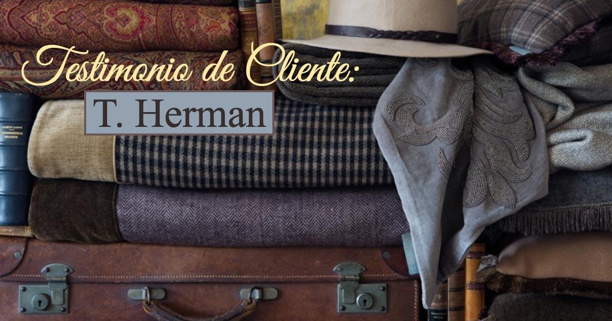 Testimonio de Cliente: T. Herman