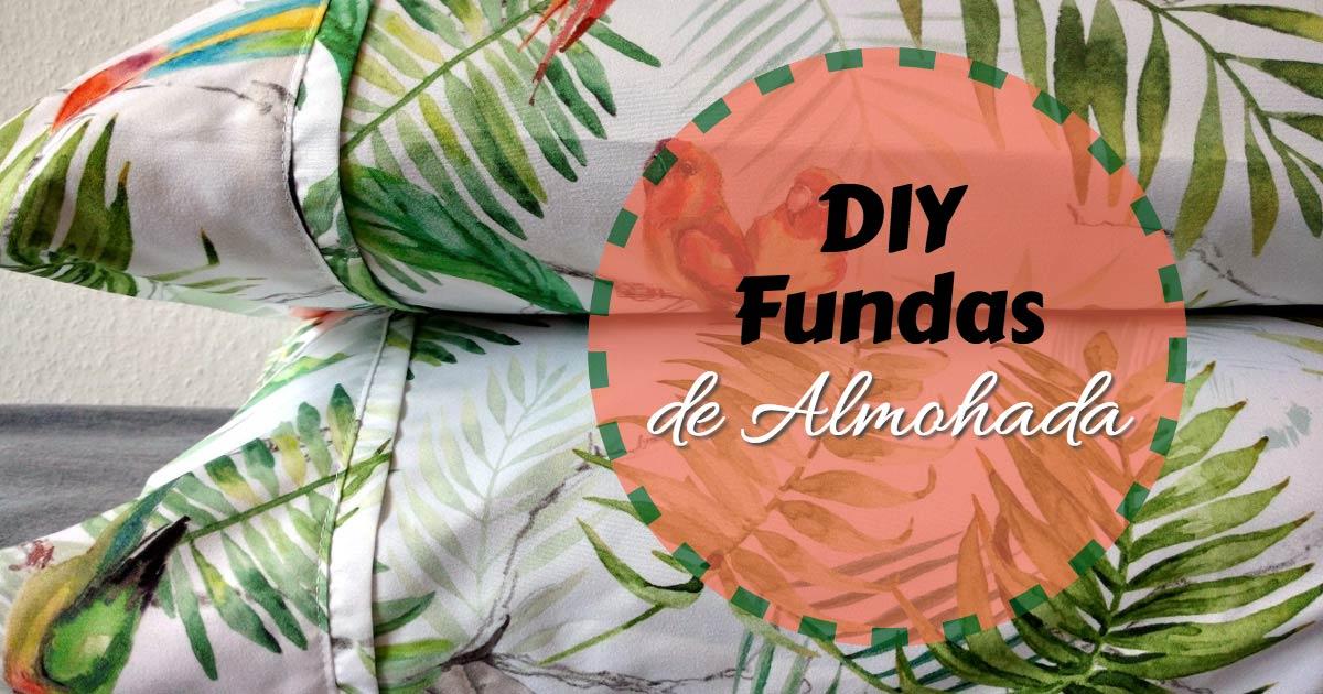 DIY Fundas de Almohada para la Cama