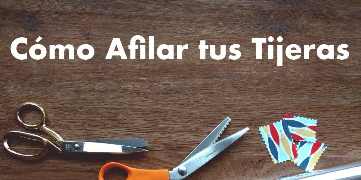 tutorial truco afilar tus tijeras