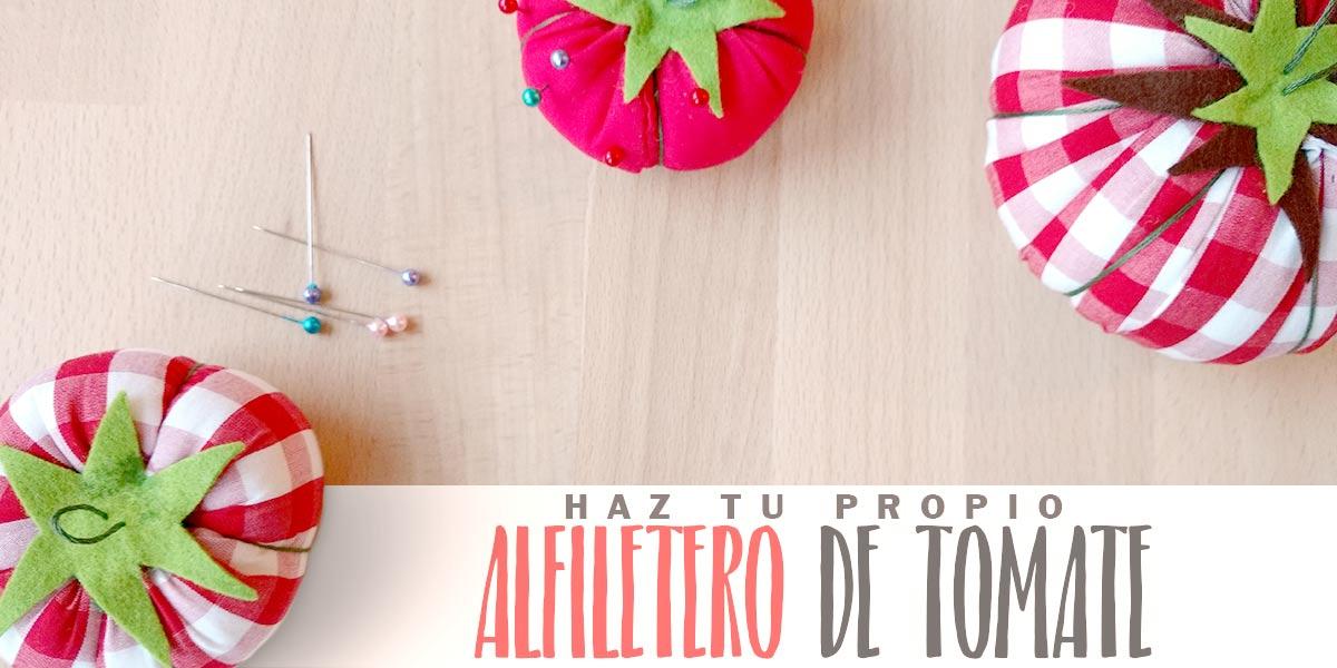 Haz Tu Propio Alfiletero de Tomate