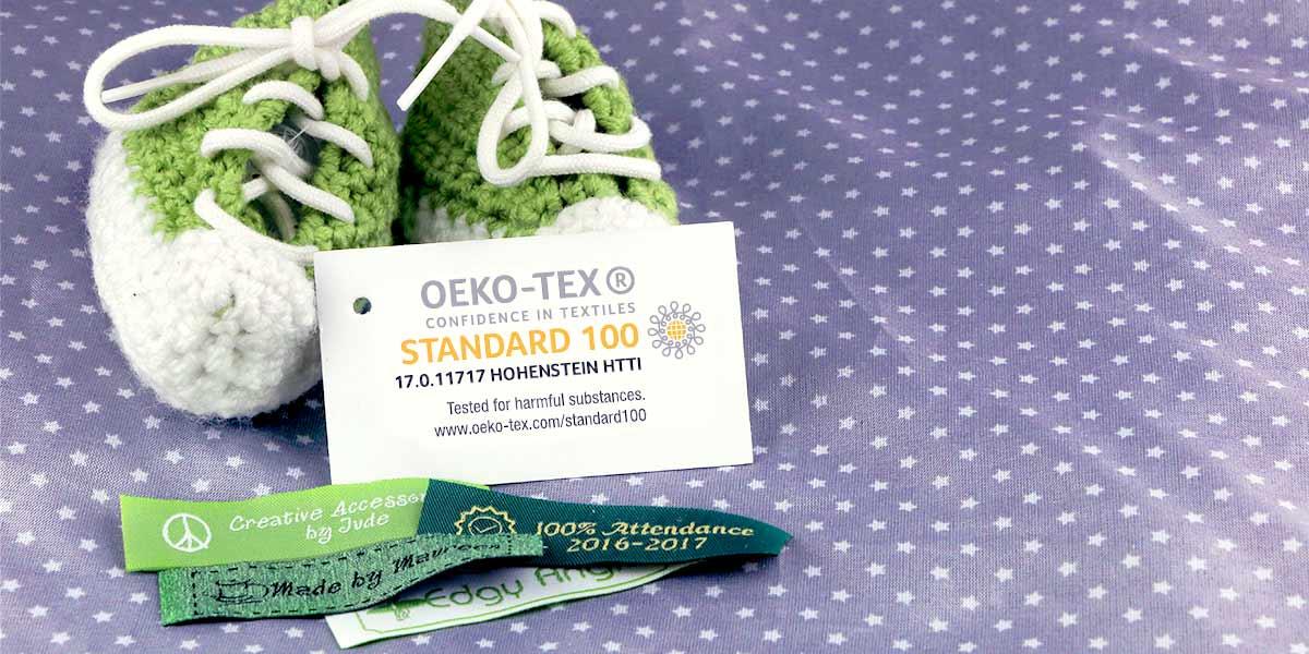 Wunderlabel está certificado con OEKO-TEX® Standard 100