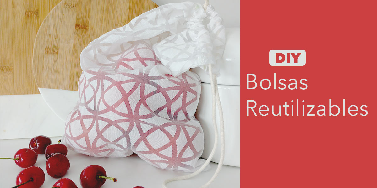 DIY Bolsas Reutilizables