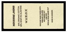 Etiquetas de tela impresas PRO
