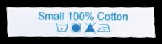 Etiquetas Impresas con Instrucciones de Lavado - diseño online