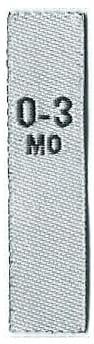 Tallas Bebé (0-3MO - 18-24MO) Blanco