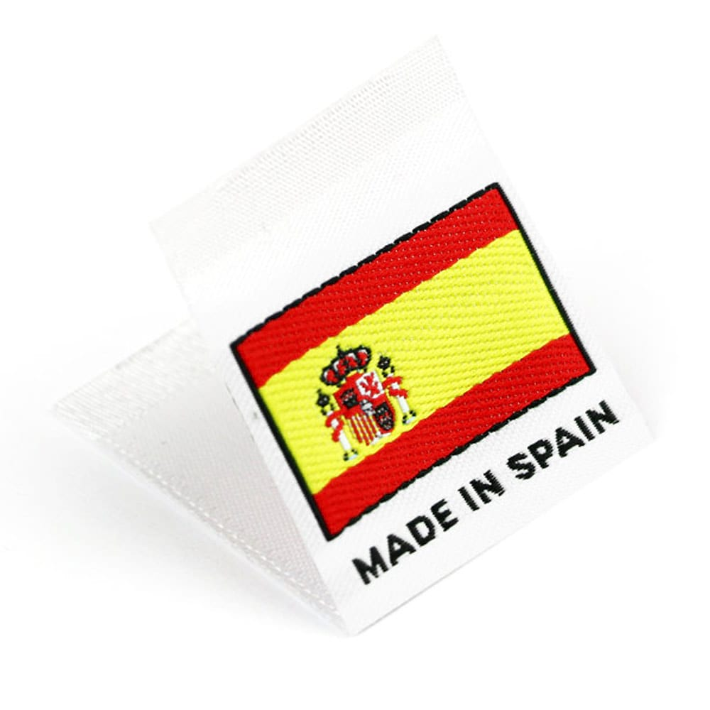 Etiquetas Tejidas con Bandera 'Made in Spain'