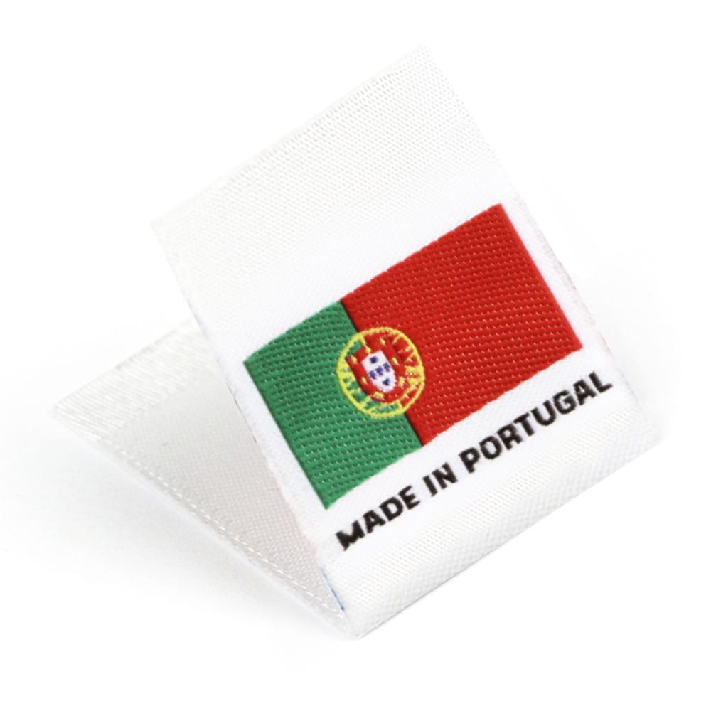 Etiquetas Tejidas con Bandera 'Made in Portugal'